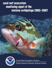 Mariana Archipelago Coral Reef Ecosystem Monitoring Report Cover