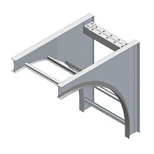 Vertical Cable Support Elbow