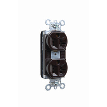 PlugTail® Spec Grade Receptacles, 20A, 125V, Brown