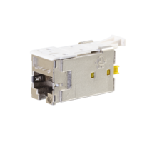 Clarity CAT6A Shielded High Density Jack, T568A/B