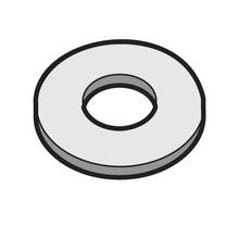 #12 Flat Washer-EZ (100PCS)