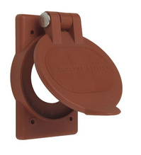 Power Interrupting Device Accessory - Red Nylon Cover and Gasket