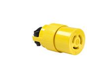 Non-NEMA 3 Wire Connector, Yellow