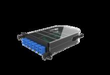M4 SPLICE CASSETTE- 12 FIBER- SC ANGLED DUPLEX- OS2