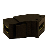 HDMI Keystone Insert/Coupler, Brown