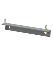 Shelf Bracket -  6 in  -  Dove Gray