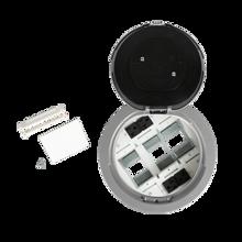 8AT Prewired Evolution™ Poke Thru Device, Flush Style Cover, Aluminum