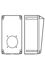 Pin & Sleeve Non-Metallic Back Box