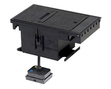Outdoor Ground Box 30A, 250V TURNLOK®, Locking Receptacle L6-30R, Black