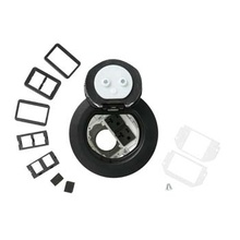 4AT Prewired Dual Service Evolution™ Poke-Thru Device-Black