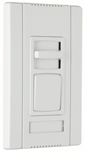 Titan Series LED 4-Wire Single-Pole/3-Way Preset Dimmer, Brown