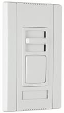Titan Series LED 4-Wire Single-Pole/3-Way Preset Dimmer, White