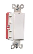 PlugTail® Single Pole Illuminated Decorator Switch 20 amp, White