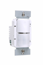 Commercial Passive Infrared (PIR) Wall Switch Sensor, White