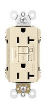 Spec-Grade Audible Alarm Tamper-Resistant 20A Self-Test Duplex GFCI, Light Almond