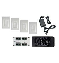 Digital Audio Four-Room Expansion Kit, White