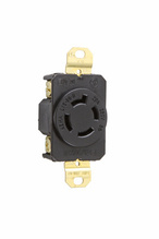 20 Amp NEMA L1520 Single Receptacle