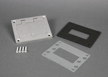Omnibox® Rectangular Aluminum GFI Cover Plate