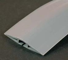 Corduct 15' Overfloor Cord Protector, Gray
