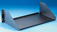 Equipment Shelf - 5.25 H x 17.25 in W x 10.13 in D - black