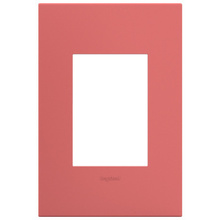 adorne®Hibiscus One-Gang-Plus Screwless Wall Plate