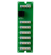 1x6 Telephone Board with RJ31X (for MDU enclosure)