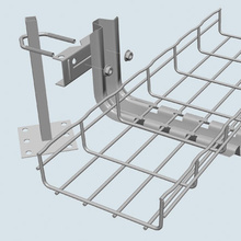 UNDER FLOOR SUPPORT CLAMP-PREGALV (2D,,4W,,5L) [559220]
