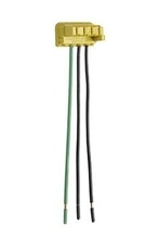 PlugTail® Switch Right Angle Connector 3-Wire, 6'' Solid THHN12