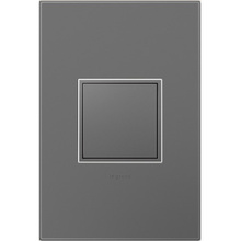 adorne Pop-Out™ Outlet and Magnesium Wall Plate