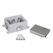 880CM1-1 - Omnibox Series Shallow Cast-Iron Floor Box
