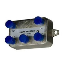 4-Way Vertical Coax Splitter (2 GHz)