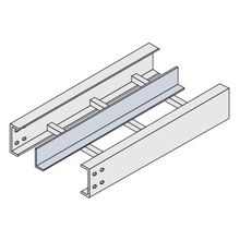 4A-0012-99-S6 Straight Divider Strip 12'L w/316 SS Hardware (TRA)