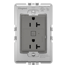 Coming Soon:  adorne Smart 20A Outlet with Netatmo Plus Size Magnesium