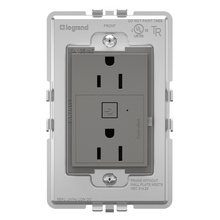 Coming Soon:  adorne Smart 15A Outlet with Netatmo Plus Size Magnesium