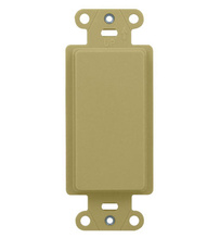 Blank Decorator Outlet Strap, Ivory