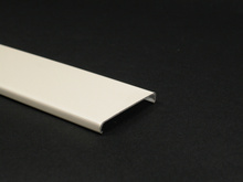 Wiremold 2400 Series Raceway Cover, Ivory