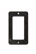 1-Gang GFCI Cover Plate, Black
