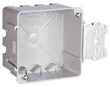 """4"""""""" Square box with Threaded Mounting Holes"""