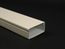 Wiremold 2400 Series Raceway Base and Cover, Ivory