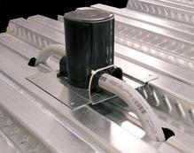 881FC Ratchet-Pro Fire Classified Nonmetallic Round PVC Floor Box