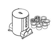 Rachet-ProTM Series Round Nonmetallic Floor Box