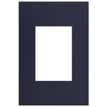 adorne® Bleu Noir One-Gang-Plus Screwless Wall Plate
