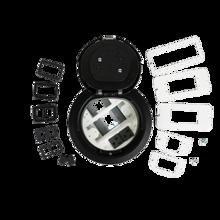 6AT Prewired A/V Evolution™ Poke Thru Device, Surface Style Cover, Black