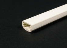 Wiremold 400 Series Raceway Base and Cover, Ivory