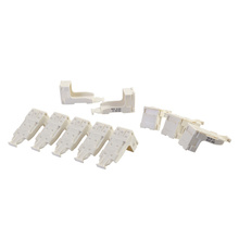 HDJ Blank Modules, slide latch pack of 10
