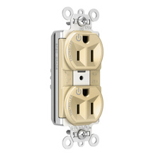 PlugTail® Heavy-Duty Spec Grade Plug Load Controllable Receptacle, 15A, 125V, Ivory