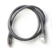 2FT CATEGORY 6A PATCH CABLE-GRY