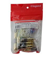 Compression RG6U/Quad Shield RCA Plug