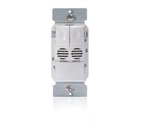 Dual Tech Wall Switch Occupancy Sensor, 2 Relays, 120/277V, Lt. Almond