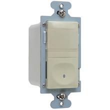 120V Single Pole Vacancy Sensor, Ivory